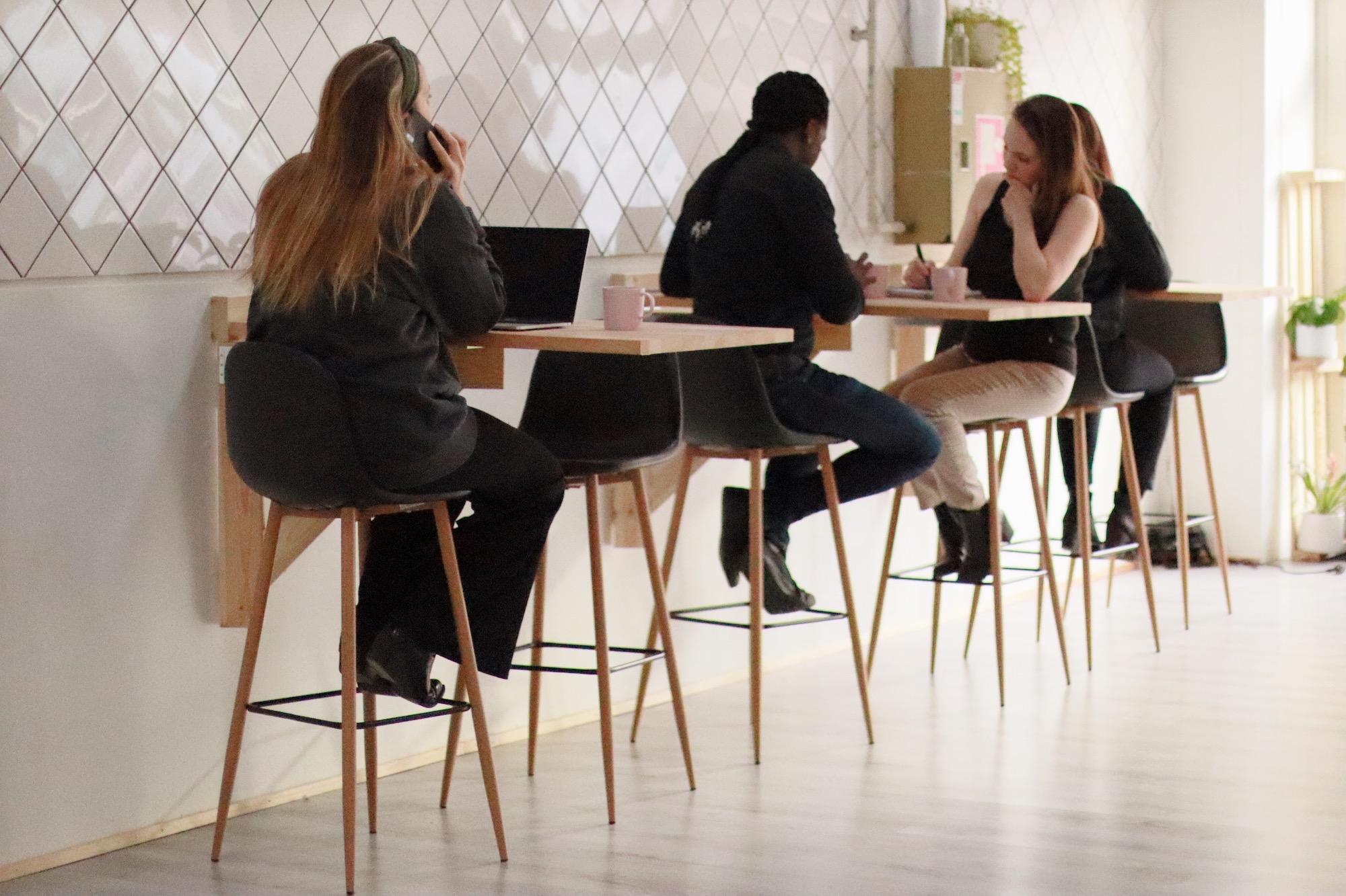 Frilansare på Hey Space Coworking i Göteborg
