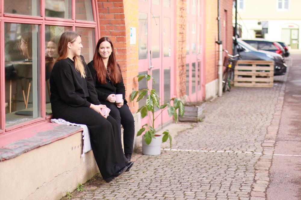 Sol på fasaden - Hey Space Göteborg