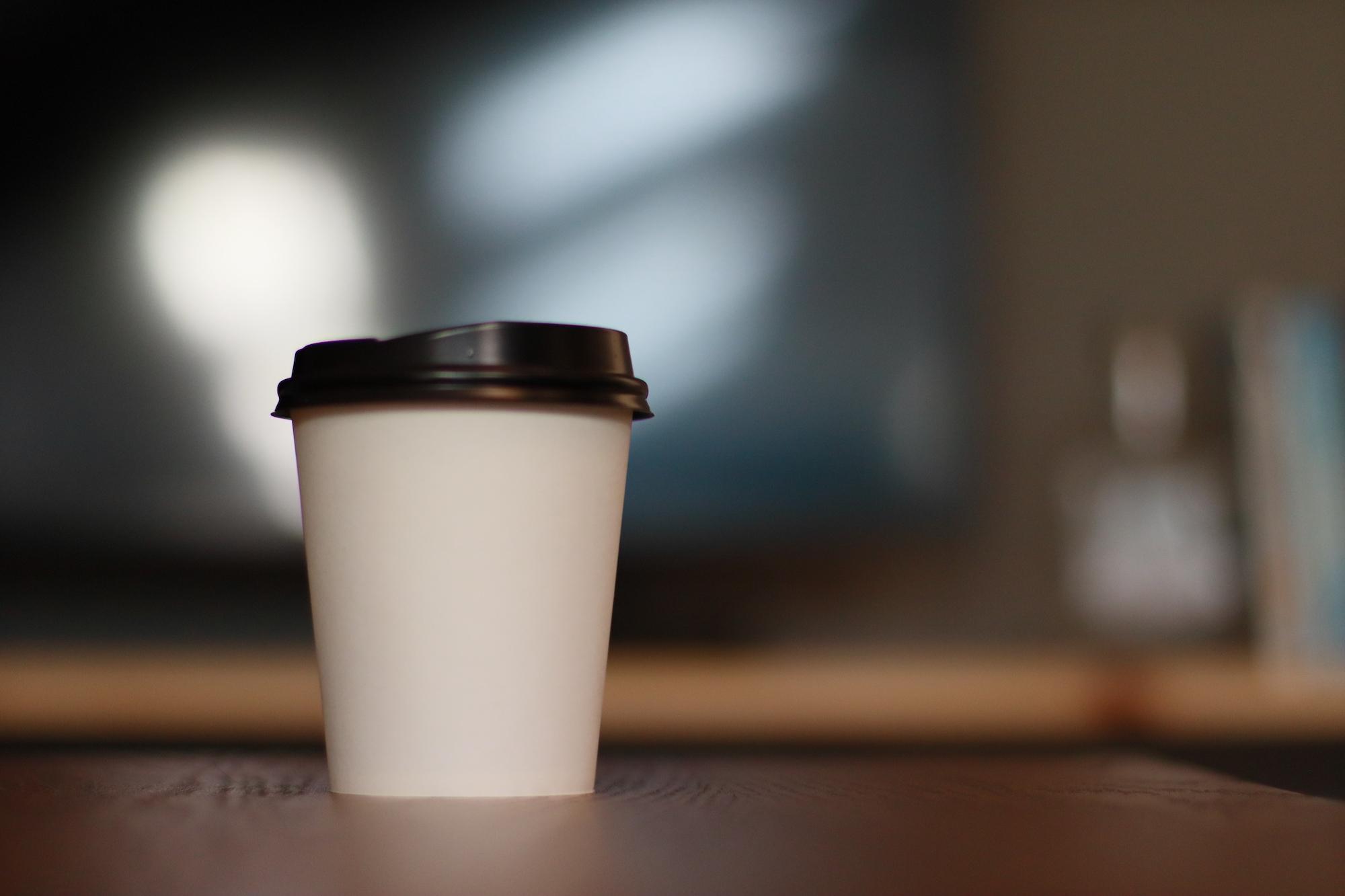 Kaffe på Hey Space